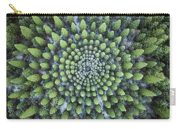 Circular Symmetry Carry-all Pouch
