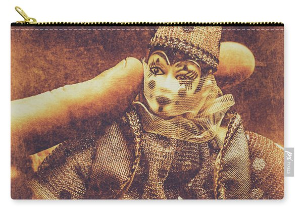 Circus Puppeteer  Carry-all Pouch