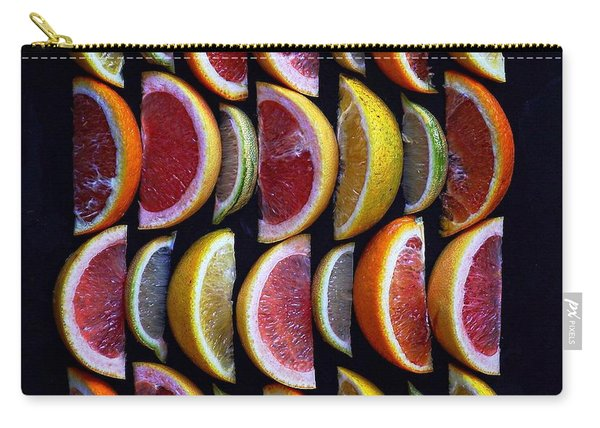 Wavy Citrus Lineage Carry-all Pouch