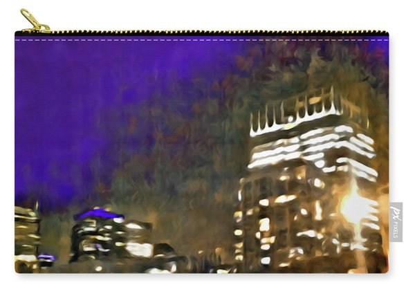 City Flames Carry-all Pouch