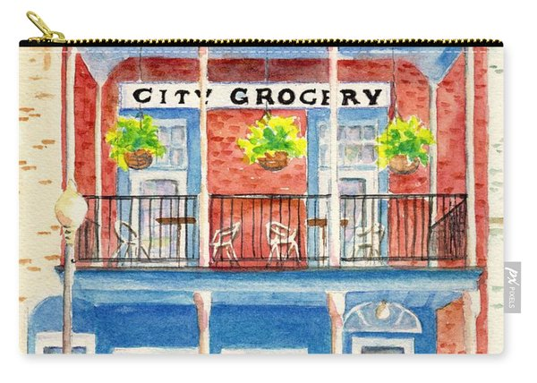 City Grocery Oxford Mississippi  Carry-all Pouch