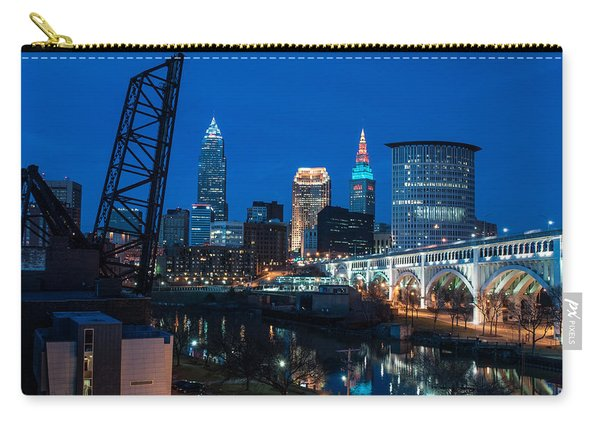 City Of Bridges Carry-all Pouch