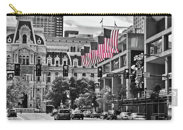 City Of Brotherly Love - Philadelphia Carry-all Pouch