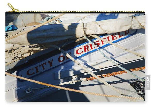 City Of Crisfield Skipjack, Deal Island M D  Carry-all Pouch