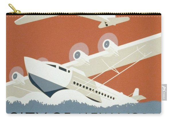 City Of New York Municipal Airports Carry-all Pouch