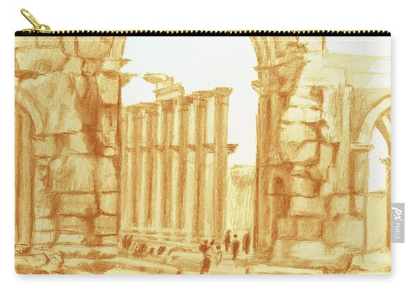 City Of Palmyra Carry-all Pouch