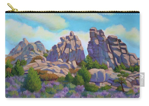 City Of Rocks Carry-all Pouch