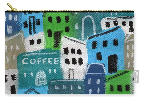 City Stories- Coffee Shop Carry-all Pouch