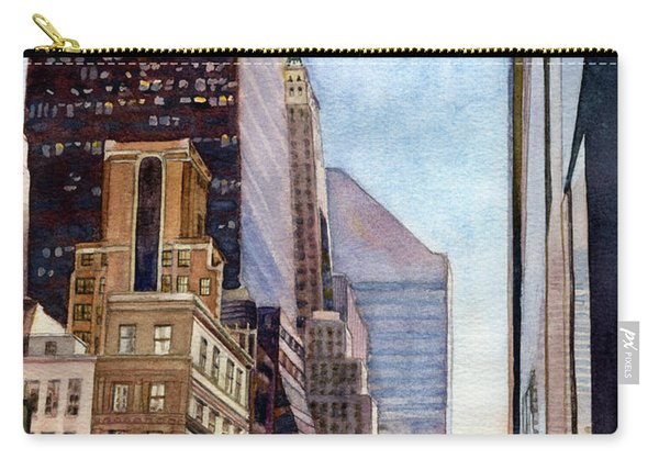 City Sunrise Carry-all Pouch