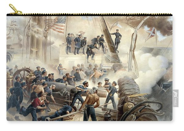 Civil War Naval Battle Carry-all Pouch