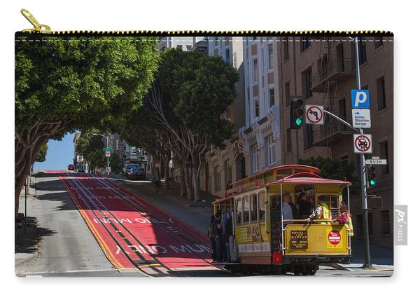 Clang Clang Goes The Cable Car Carry-all Pouch