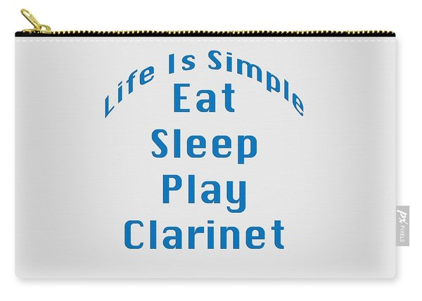 Clarinet Eat Sleep Play Clarinet 5512.02 Carry-all Pouch