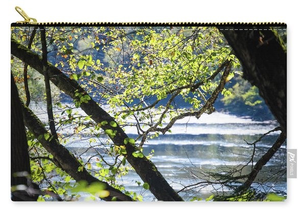 Clarion River From The Forest Carry-all Pouch