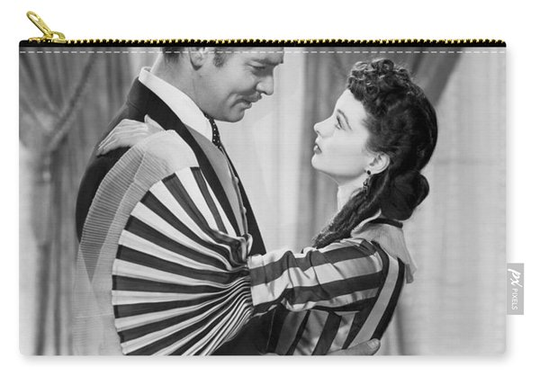 Clark Gable And Vivien Leigh Carry-all Pouch