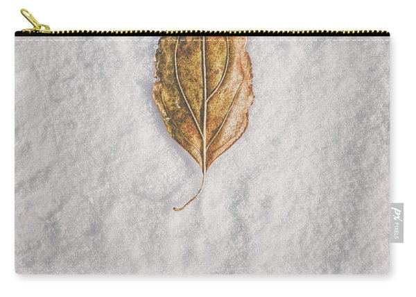 Clash Of Seasons Carry-all Pouch