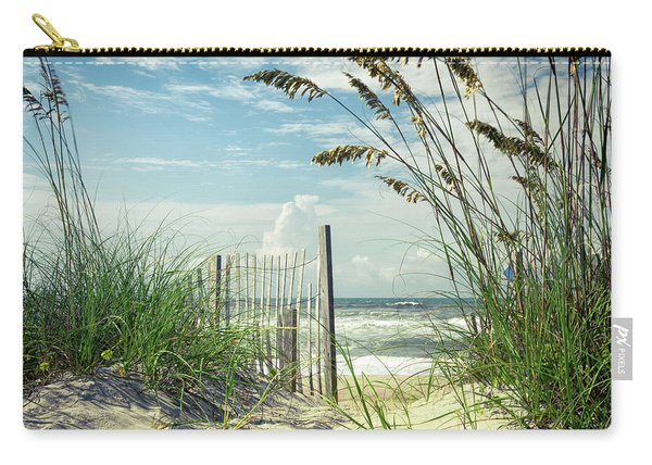 To The Beach Sea Oats Carry-all Pouch