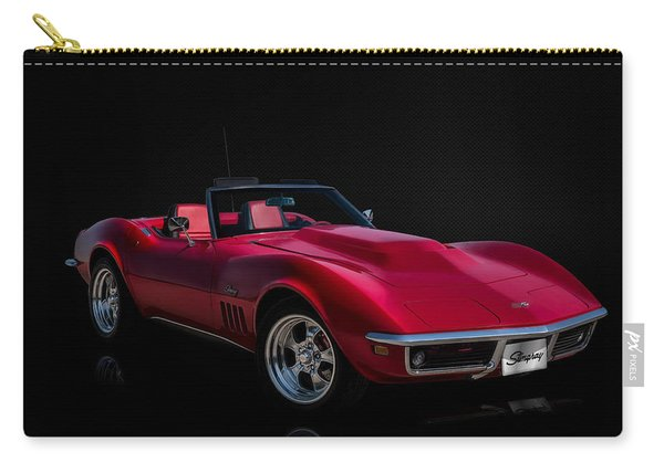 Classic Red Corvette Carry-all Pouch