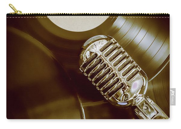 Classic Rock N Roll Carry-all Pouch