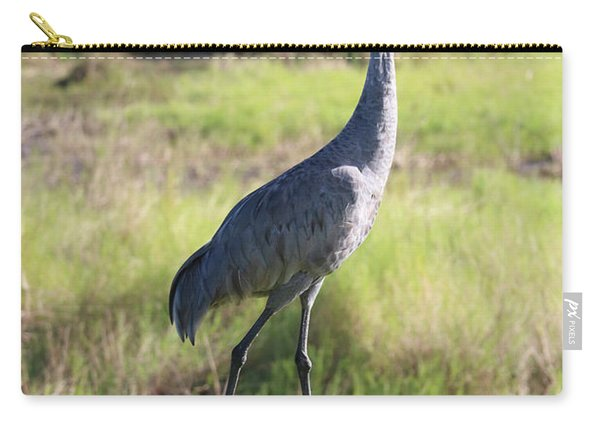 Classic Sandhill Crane Carry-all Pouch