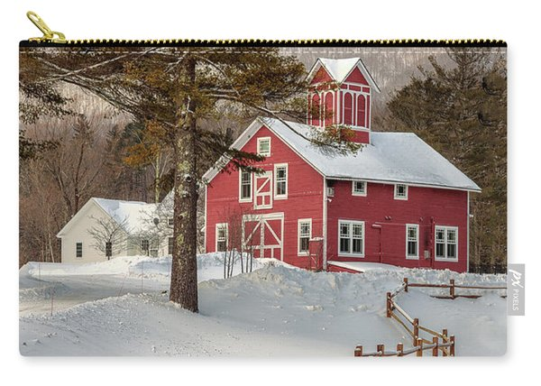 Classic Vermont Barn Carry-all Pouch