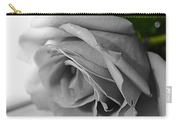 Classic White Rose Carry-all Pouch