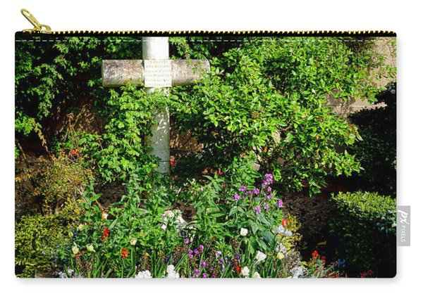 Claude Monet Grave In Giverny Carry-all Pouch