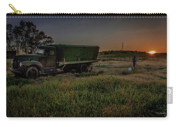Clear Morning Sunrise Carry-all Pouch
