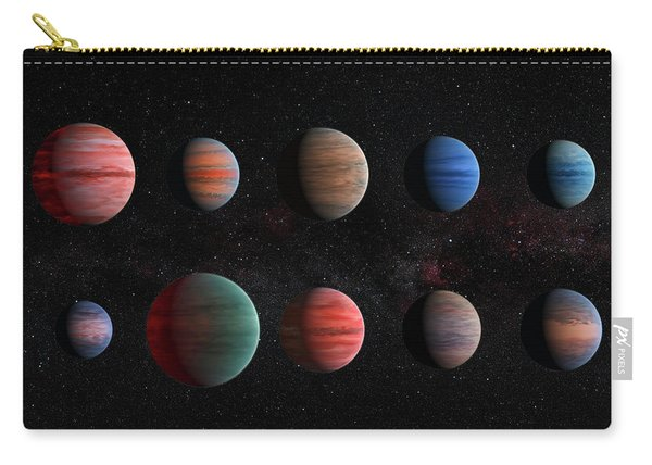 Clear To Cloudy Hot Jupiters Carry-all Pouch