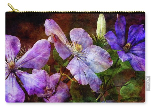 Clematis 1330 Idp_2 Carry-all Pouch