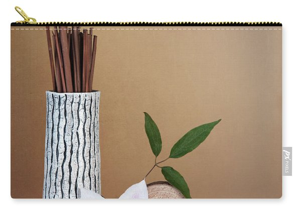 Clematis Flower Still Life Carry-all Pouch