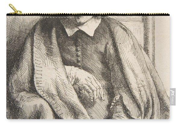 Clement De Jonghe, Printseller, 1651 Carry-all Pouch
