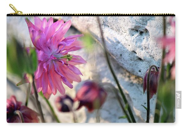 Clementine Rose Columbine On Last Day Of Spring Carry-all Pouch