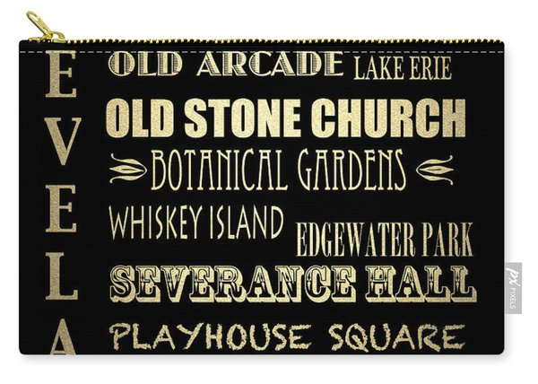 Cleveland Famous Landmarks Carry-all Pouch