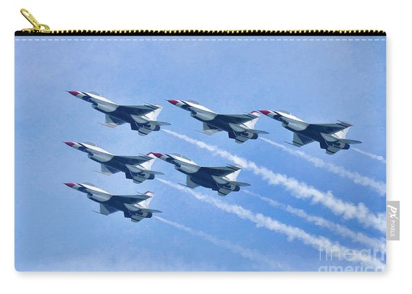 Cleveland National Air Show - Air Force Thunderbirds - 1 Carry-all Pouch