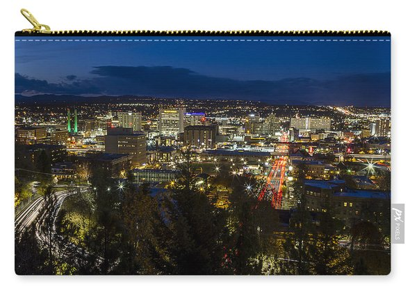 Cliff Drive Rush Hour - Spokane  Carry-all Pouch