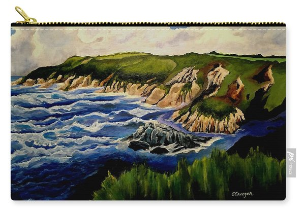 Cliffs And Sea Carry-all Pouch