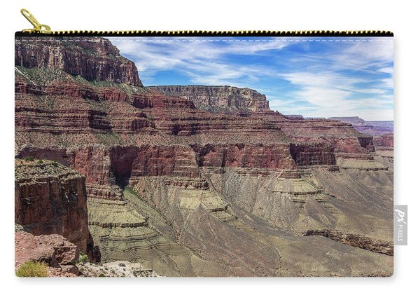 Cliffs In The Grand Canyon Carry-all Pouch