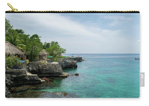 The Cliffs Of Negril Carry-all Pouch