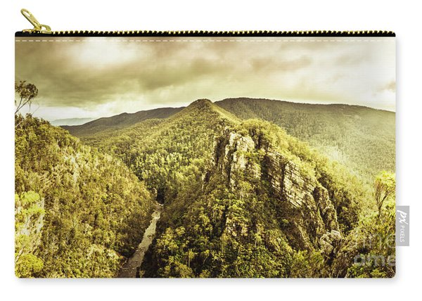 Cliffs, Steams And Valleys Carry-all Pouch