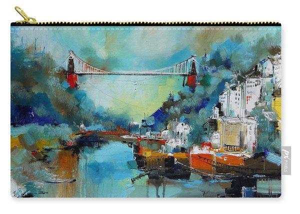 Clifton Suspension Bridge Bristol England Carry-all Pouch