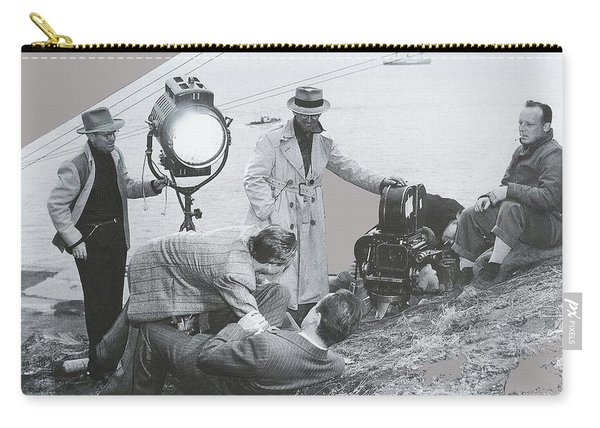 Clifton Young And Bogie Fight To The Death Dark Passage 1947-2016 Carry-all Pouch