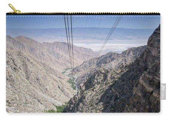 Climbing Mount San Jacinto Carry-all Pouch