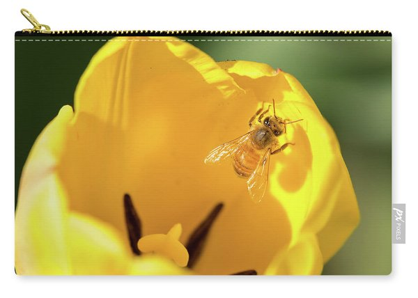 Carry-all Pouch featuring the photograph Climbing Out by Brian Hale