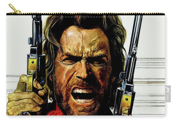 Clint Eastwood As Josey Wales Carry-all Pouch