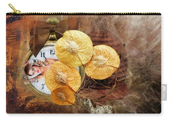 Clock Girl Carry-all Pouch