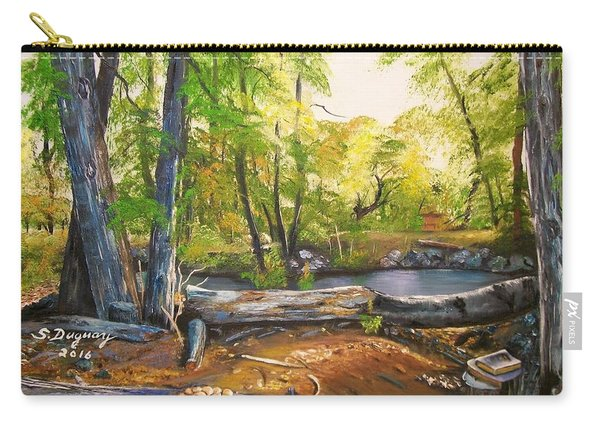 Close To God's Nature Carry-all Pouch