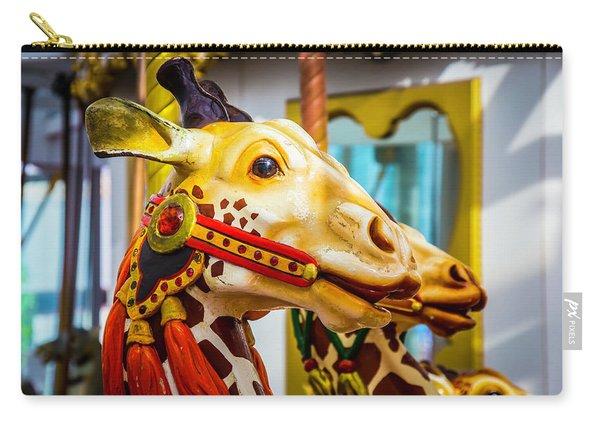 Close Up Giraffe Ride Carry-all Pouch