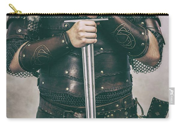 Close Up Of Viking Costume Carry-all Pouch