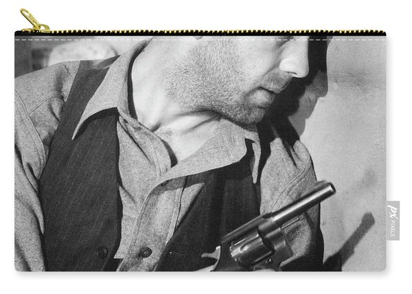 Close-up Up Of Humphrey Bogart As Duke Mantee With Gun The Petrified Forest 1936 Carry-all Pouch
