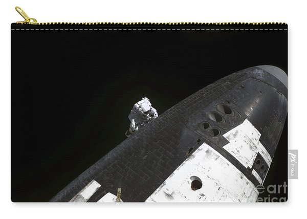 Close-up View Of The Nose Cone On Space Carry-all Pouch
